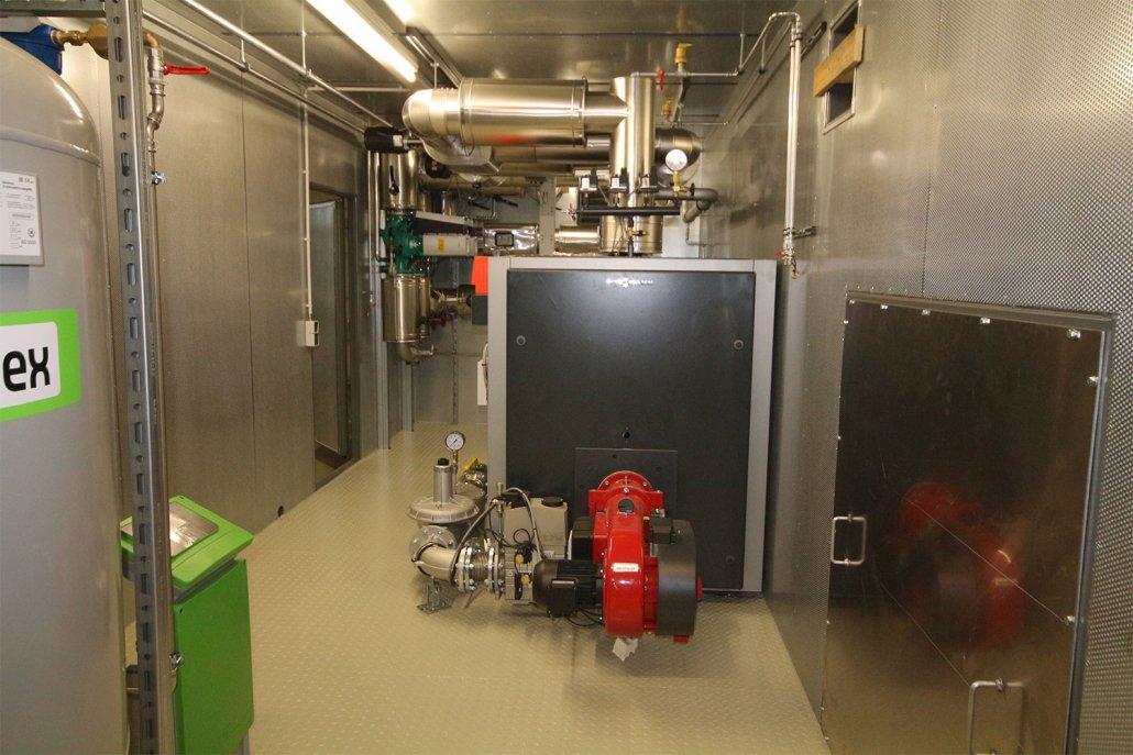 Anlagentechnik Heizzentralen im Container